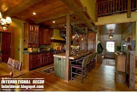 Old Farmhouse In The Woods With A Rustic Interior Interior And Home Cabins Prepped For A Getaway Zillow Porchlight Old Time Kitchen Inspirations For My Future Home Pinterest Old Red Rustic Birdhouse Decorative Wood Bird House Garden Or
