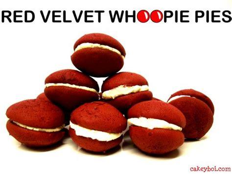 velvet whoopie pies whoopie pies red velvet on bakespace com