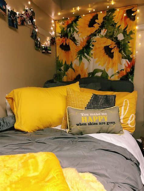 Roommate Decor - sunflower room inspiration in 2019
