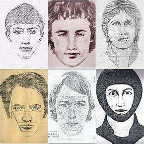 Golden State Killer Sketches