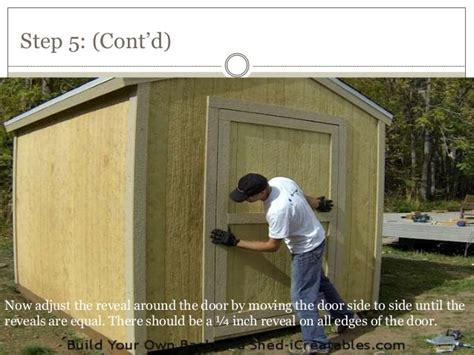 10. How To Build A Shed Door