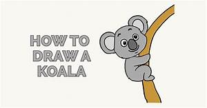 How to Draw a Koala - Really Easy Drawing Tutorial