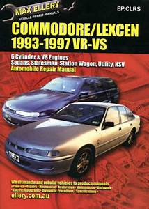 Holden Commodore    Lexcen Vr Vs Workshop Repair Manual
