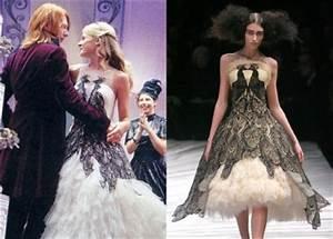 harry potter costume designer accused of stealing With fleur delacour wedding dress alexander mcqueen