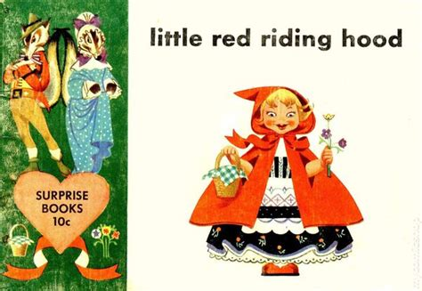 Little Red Riding Hood (1950 Surprise Books) Comic Books