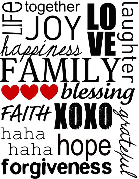 printable family quotes quotesgram