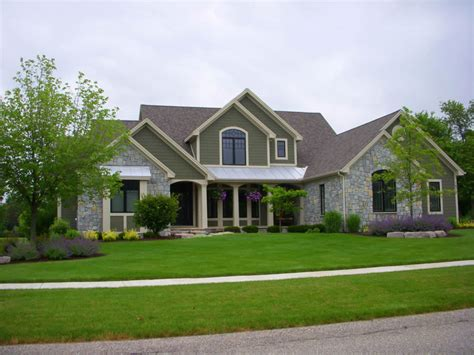 home with exterior shurlow custom home images