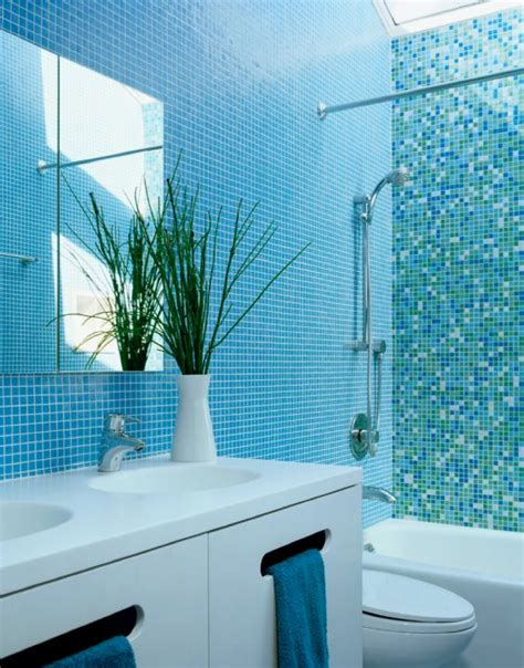 Modern Bathroom Mosaic Design by 33 Best Images About White And Turquoise Bathrooms On