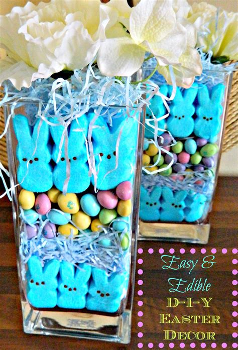 easter decorations diy easy cute decoration crafts spring edible decorate decor decorating centerpiece vase table candy display idea homemade yourself