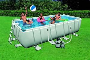 Piscine Intex Hors Sol : piscines intex rectangulaires groupe abris et piscines ~ Dailycaller-alerts.com Idées de Décoration