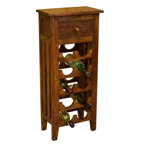 wooden wine rack lisbon solid acacia wood wine rack 10 bottle solid