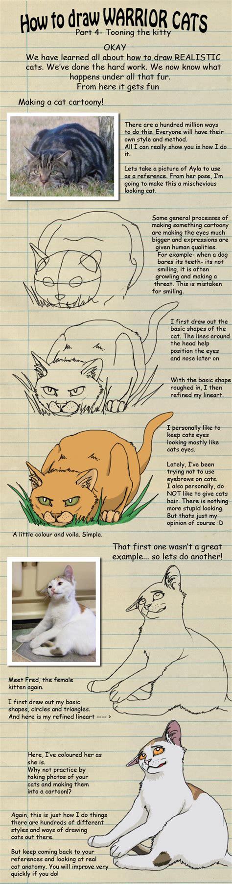 draw warrior cats pt   heylorlass  deviantart
