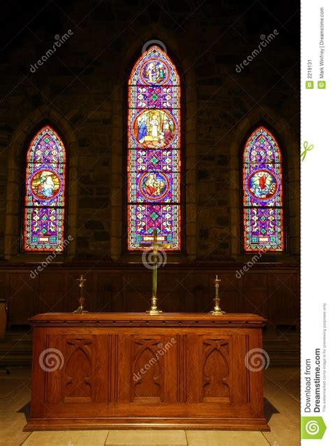 church alter stock image image