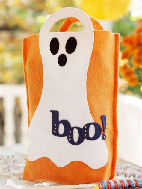 basteln zu halloween  suesse dekoideen mit gespenstern