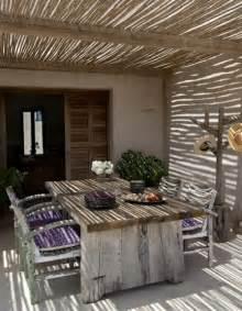 gardinen für wohnzimmer überdachte terrasse 50 top ideen für terrassenüberdachung