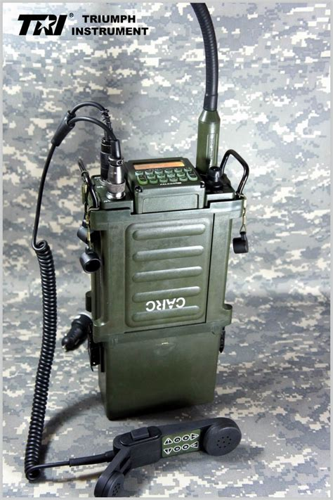 TRI instrument PRC-117G versatile two-stage FM radio for ...