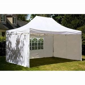 Prix Tonnelle Pas Cher : tente de reception pliante 3x6 m blanc en polye achat ~ Premium-room.com Idées de Décoration
