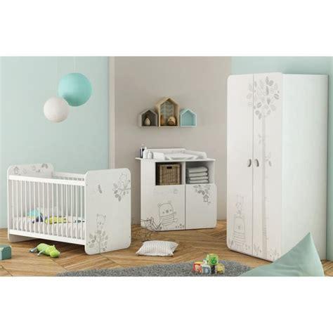 le chambre bebe chambre bébé complète 3 pièces lit 60x120 cm