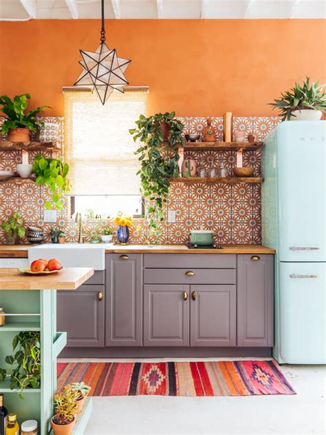 5 of the Most Inspiring Colorful Kitchens   NONAGON.style