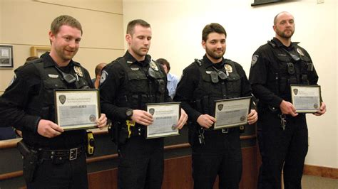 Police officers honored at city council   Belle Fourche ...