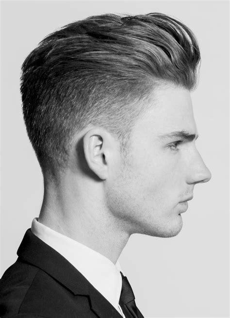 short haircuts  men  style long tops  pompadour