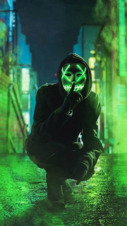 Mask Wallpapers Android Purge Led