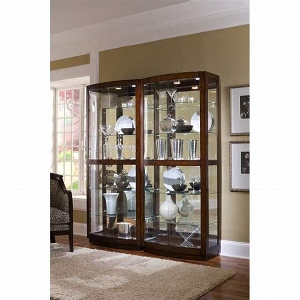 #Pulaski #Pacific #Heights #Curio #Cabinet
