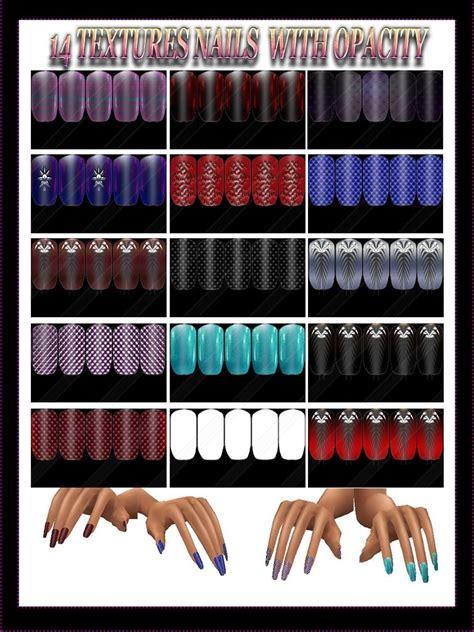 textures nails  opacity  imvu creator