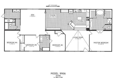 bedroom floor plan   hawks homes manufactured