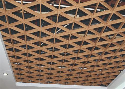 Metal Ceiling Grid by Indoor Triangle Suspended Metal Aluminum Ceiling Grid