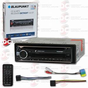 Blaupunkt Detroit 100bt Car Audio Single Din Cd Mp3