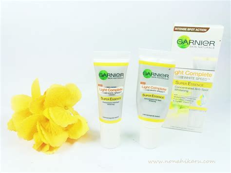 Please Welcome To Garnier Light Complete Super Essence Beauty Travelling