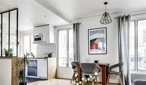 appartement paris 8 un 38 m2 refait a neuf par un archi With lovely meubler un petit appartement 2 amenager un appartement de 40 m2
