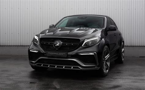 Mercedes Gle Class Backgrounds by 2016 Topcar Mercedes Gle Inferno Black Carbon