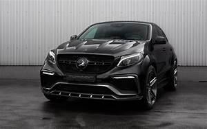 2016, Topcar, Mercedes, Benz, Gle, Inferno, Black, Carbon