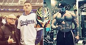 15 Pictures Of An Unmasked Rey Mysterio You Need To See