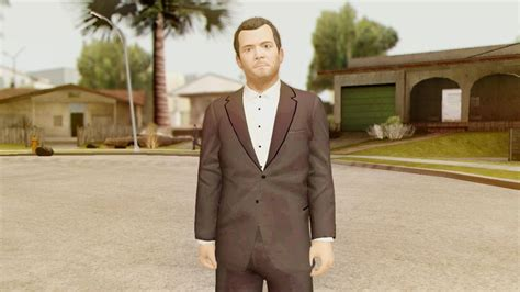 Gta San Andreas Gta V Michael Pimp Suit Mod