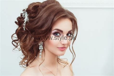 Wedding Hairstyles For Girls : Most Beautiful Engagement Hairstyles