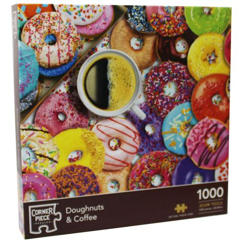 Morning coffee jigsaw puzzle game. Doughnuts and Coffee 1000 Piece Jigsaw Puzzle | Jigsaw Puzzles at The Works