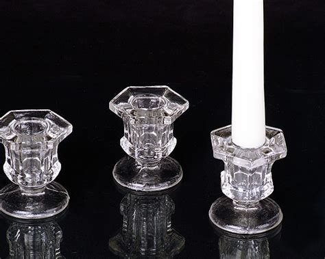 candle holders bulk clear glass taper candle holders for less 1 dozen only 10 08