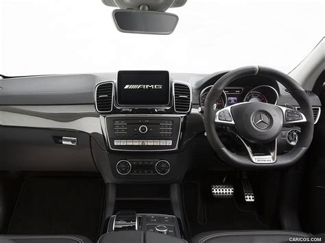 The most important update lurks under the. 2016 Mercedes-AMG GLE 63 S Coupe (UK-Spec) - Interior ...