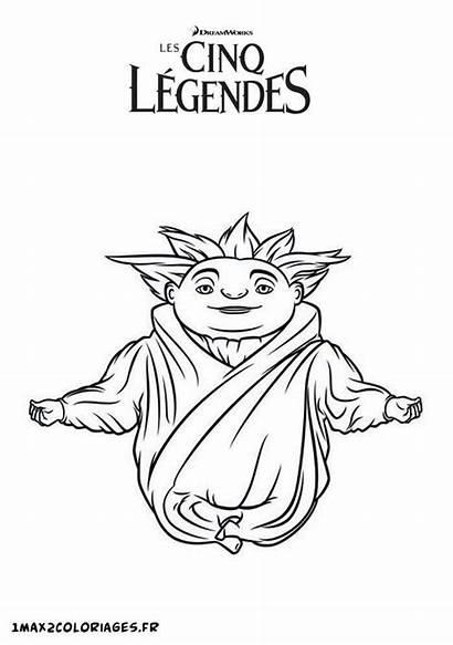 Marchand Sable Coloriage Cinq Legendes Dessin Imprimer