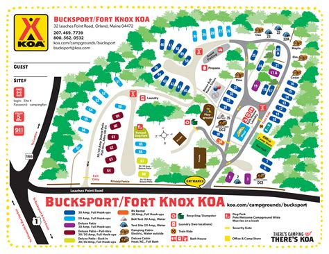Orland Maine Camping Events  Bucksport  Fort Knox Koa