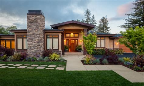 modern craftsman style home exterior modern ranch style homes affordable modern homes
