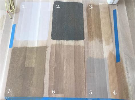 time  choose  stain color  white oak flooring