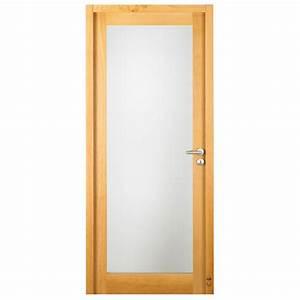 porte d39interieur bois peguy vitree pasquet menuiseries With porte de garage enroulable avec porte vitrée intérieure bois