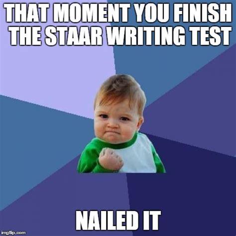 Staar Test Meme - success kid meme imgflip