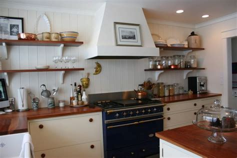 kitchen with no top cabinets simple white range wood shelves kitchen 8761