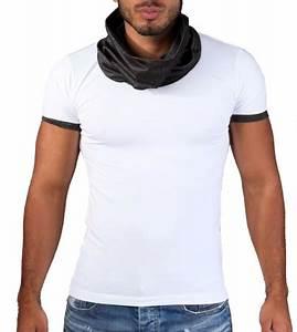 T Shirt Homme Blanc : t shirt homme moulant blanc 104 ~ Melissatoandfro.com Idées de Décoration