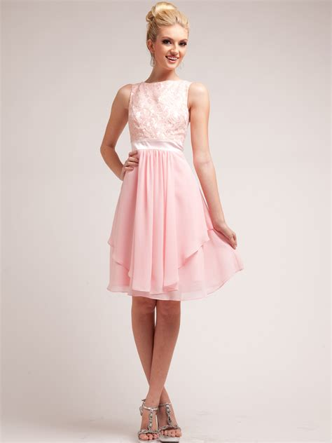 pretty lace top layered skirt cocktail dress sung